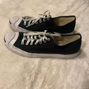 Converse Jack Purcell black & white canvas low top